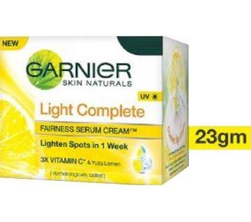 GARNIER LIGHT COMPLETE Fairness Serum Cream UV 23G - INDIA