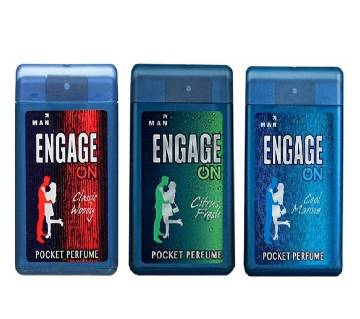 engage pocket perfume India 3pcs
