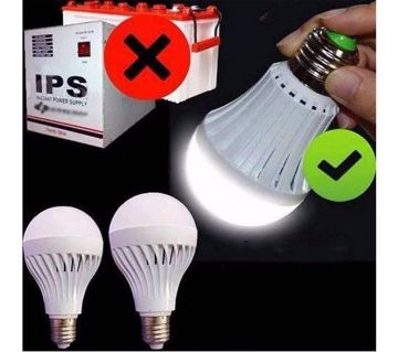 LED Automatic Rechargeable Bulb (12 W)-1Pcs