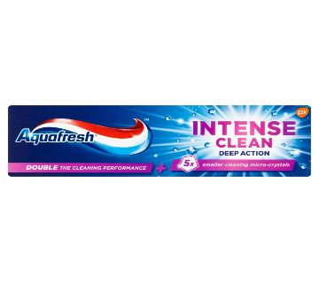 Aquafresh Intense Clear deep action  টুথপেস্ট 75ml  UK