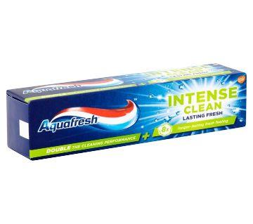 Aquafresh Intense Clean Lasting Fresh টুথপেস্ট 75ml UK