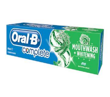 Oral-B complete  mouthwash + whitening টুথপেস্ট -100ml London
