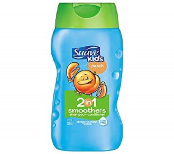 Suave Kids Coconut 2 in 1 Smoothers শ্যাম্পু + কন্ডিশনার - 355 ml USA