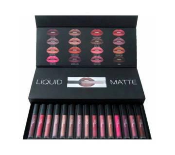 huda beauty matte lipstick (16 pcs) Italy
