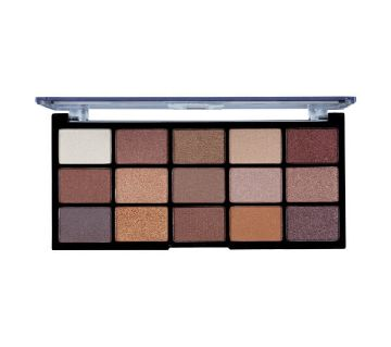 MUA Professional 15 Shade Eyeshadow Palette - Frosted Gleam - UK