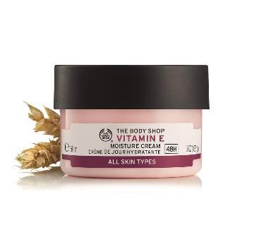 The Body Shops Vitamin E Moisture Cream 50ml - UK