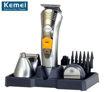 Kemei KM-580A 7-in-1 বিয়ার্ড ট্রিমার এন্ড হেয়ার ক্লিপার