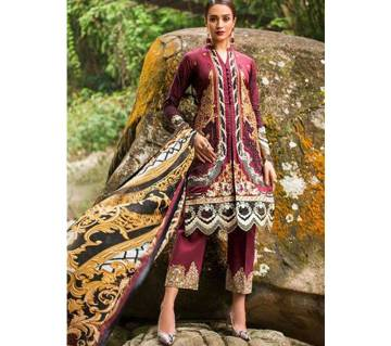 ZAINAB CHOTTANI LUXURY LAWN UNSTITCHED EMBROIDERED THREE PIECE