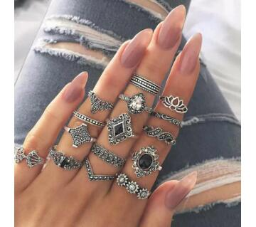 Finger ring Set 15pcs