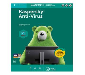 Kaspersky Anti-Virus (1 User | 1 Year License)