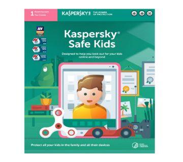 Kaspersky Safe Kids (1 Parent Account 1 Year License)