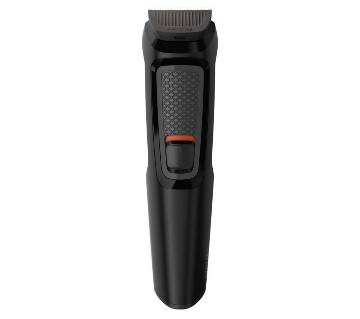 Philips MG3710 Series 3000 6-in-1 Multi Groom Kit For Beard With Nose Trimmer  - Black