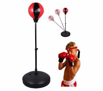 Boxing Bag & Gloves Set