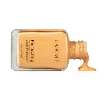 LAKME Natural Shell Perfecting Liquid Foundation 27ml - India