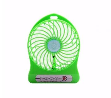 2 in 1    Rechargeable Fan With Light