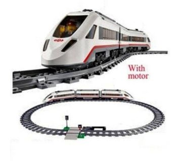 Electric Train & Rail Line