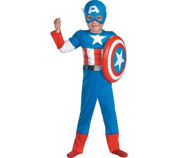 Captain America  Dress For Kids