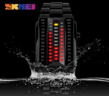 SKMEI Men Fashion Creative binary led bracelet watch (Fashion & Casual)