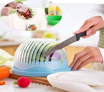 Salad Cutter Bowl Multi function Graters Easy Salad Maker Fruit Vegetables Chopper Bowl Kitchen Accessories