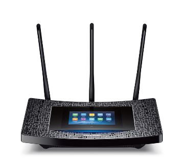 TP-Link AC1900 Touch P5 WiFi Router - Black