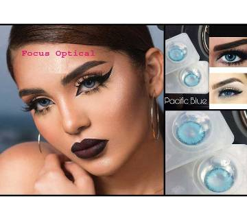 Bella Diamond Contact Lens-Pacific Blue