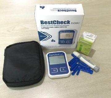Best Check Basic Blood Glucose Test Monitor