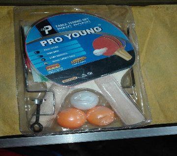Pro Young Table Tennis bat set