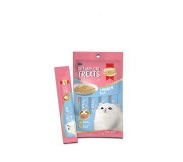 SmartHeart Creamy Cat Treats- Squid(15g*4packs- 60g)