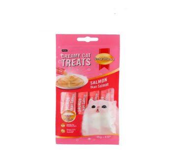 SmartHeart Creamy Cat Treats- Salmon(15g*4packs- 60g)