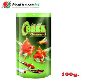 Green 1 Mini Pellet 100 gm- Osaka