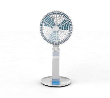 New USB Rechargeable Fan With LED Light