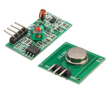 433Mhz RF Decoder Transmitter With Receiver Module