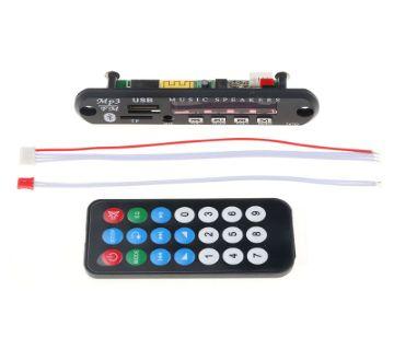 Car Amplifier Bluetooth MP3 Decoding Board Module FM Radio USB TF AUX Remote Control