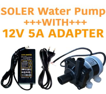 SOLER WATTER PUMP WITH 12V 5A ADAPTER