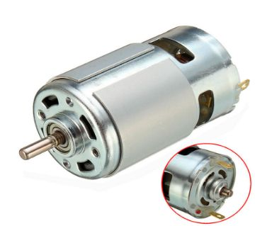 775 12-24V DC 7000RPM Fashion Motor Ball Bearing Large Torque High Power Low Noise