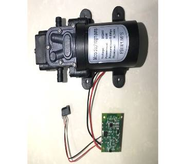 24v 60W 5L/min mini electric water pump high pressure self priming diaphragm pump spray