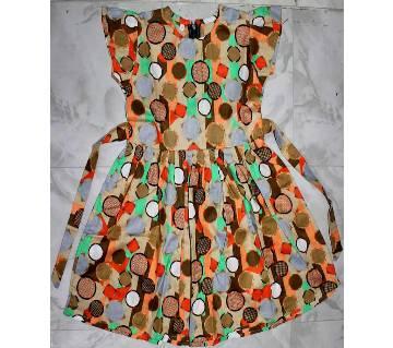 Baby Girl Cotton Sleeveless Frock