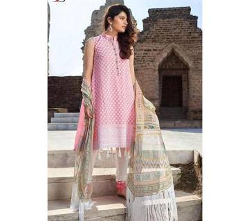 DEEPSY EIDI SUITS - 800-606 Unstitched Cotton Three-piece (copy)