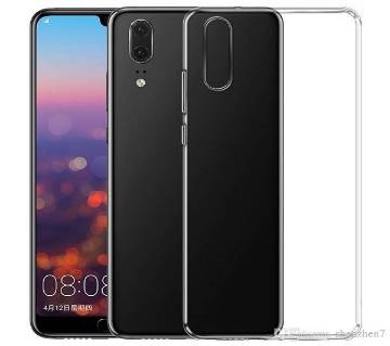 Clear Hard Case Cover - Transparent for Huawei P20 Lite