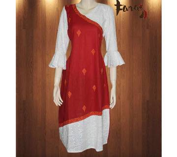 Stitch Cotton Single Kurti