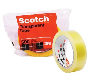 Scotch Tape - 500 Meters (Transparent)