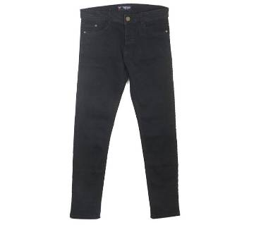 Black Denim Casual Jeans for Men