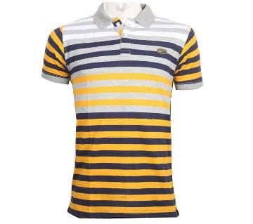 Mens Half Sleeve Cotton Polo Shirt