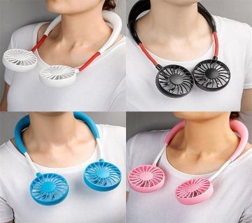 Neck Fan Portable Rechargeable With USB
