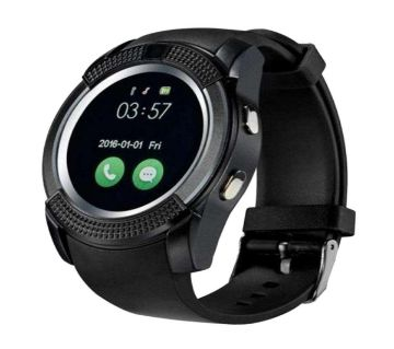 V8 Bluetooth Smart Watch (SIM Supported)