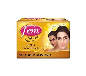 Fem Fairness Naturals Gold Skin Bleach 470 GMS India
