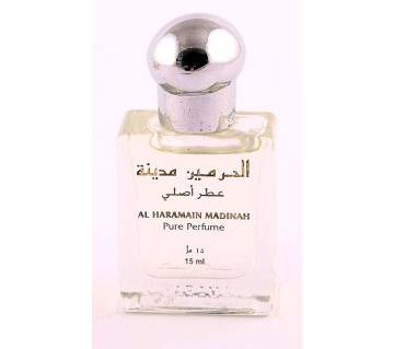 Al Haramain  Madinah pure perfume (15 ml) - Dubai