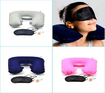 Travel selection, Comfort Neck pillow, eye shade,ear plugs