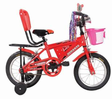 "Duranta CB Glister 14"" Kids cycle With Basket (Red) - 804578"