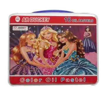 AR Ducky Barbie Oil Pastels - 18 Colors